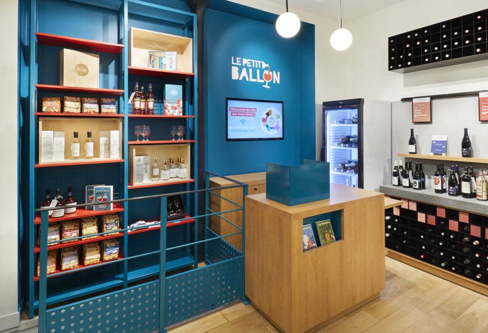 Label Experience : espace digital dans la boutique Le Petit Ballon à Paris