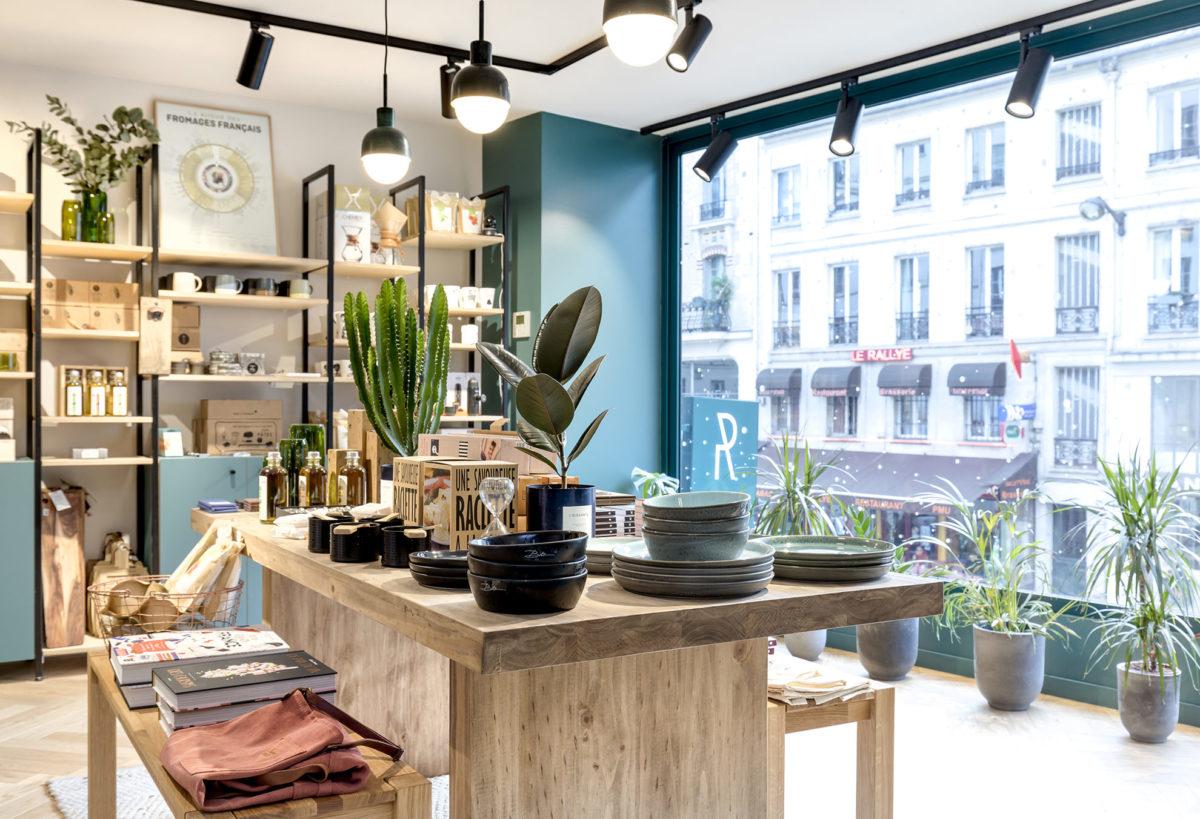 Label Experience : Les Raffineurs Concept Store Paris Bastille espace vente équipements cuisine