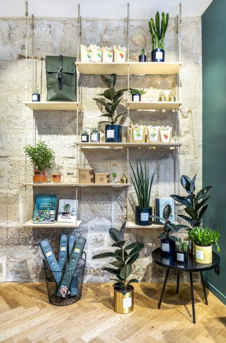Label Experience : Les Raffineurs concept store Paris Bastille vente jardinage urbain