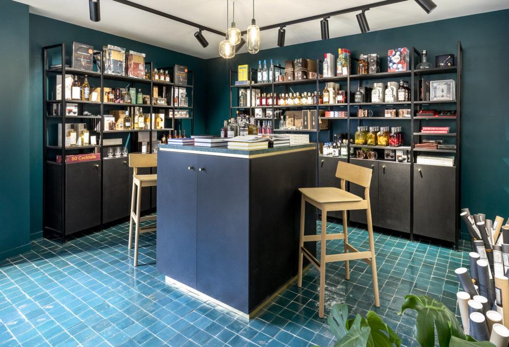 Label Experience : Les Raffineurs concept store Paris Bastille espace vente alcool bar