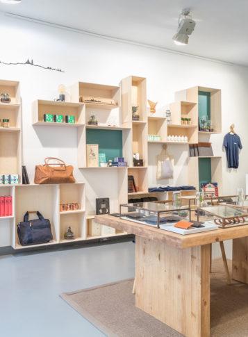 Label Experience: Corner du pop-up store « Raffineurs » à Paris.