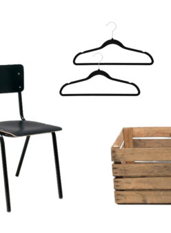 Label Experience : chaise en bois noir du catalogue Movable