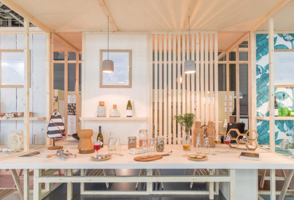 """Label Experience : stand de dégustation """"déjeuner"""" dans le salon Vinovision à Paris"""