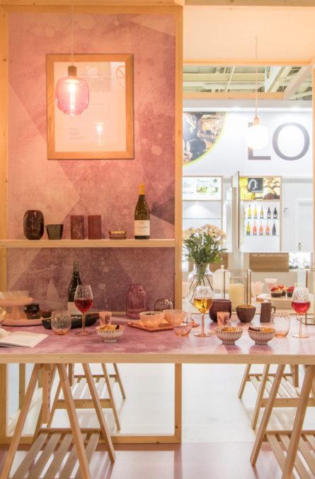 """Label Experience : stand de dégustation """"aperitif"""" dans le salon Vinovision à Paris"""