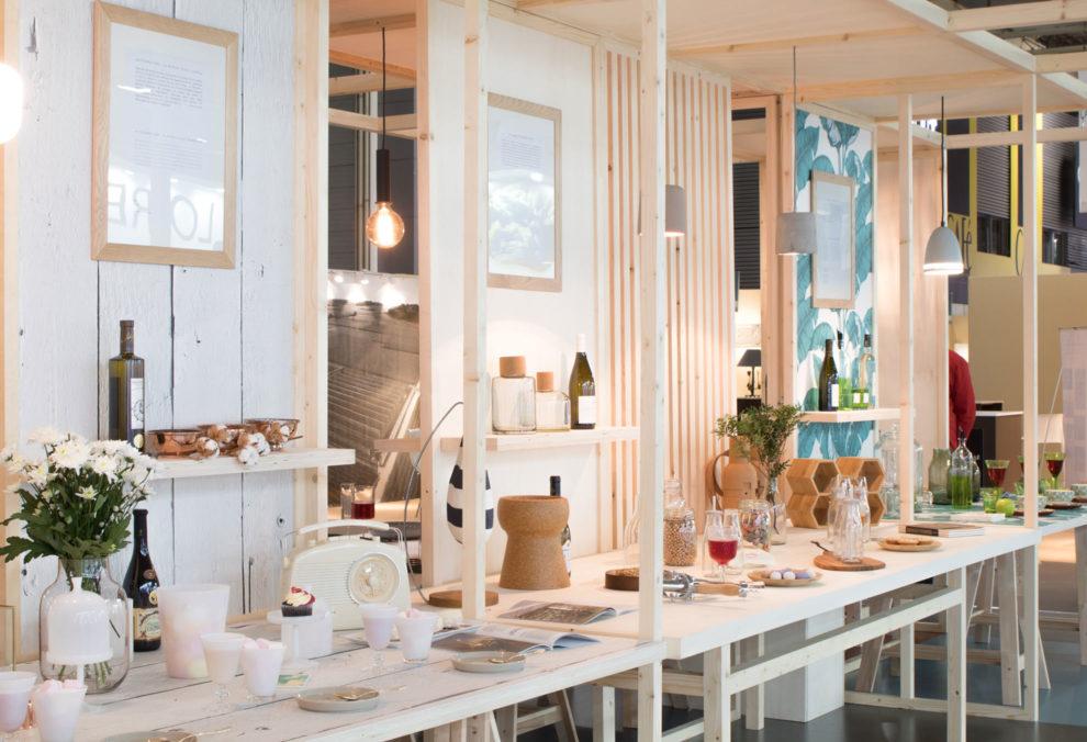 """Label Experience : stand de dégustation """"célébration"""" dans le salon Vinovision à Paris"""