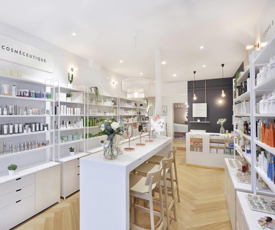 Label Experience : vue globale intérieur de la boutique Oh My Cream rue Guichard à Paris