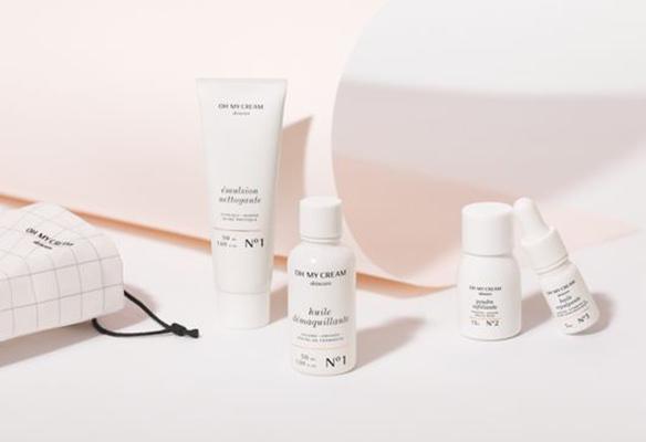 Label Experience : packshot des cosmétiques Oh My Cream