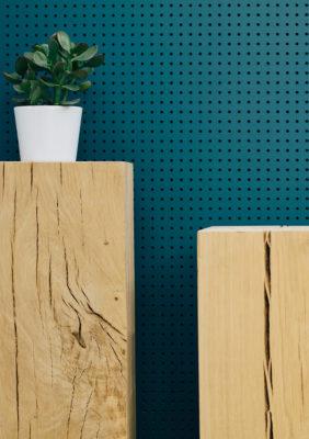 Label Experience : zoom sur la décoration intérieur de la boutique Pyrenex à Paris