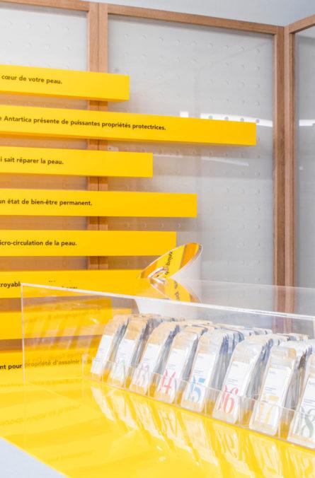 Label Experience: Focus sur l'espace de test du pop-up store « Romy » à Paris.