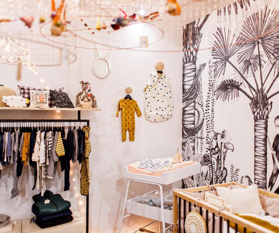 Label Experience : mobilier en vente dans l'espace bébé de la boutique Smallable à Paris