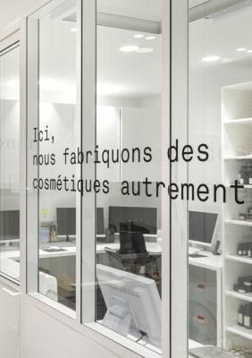 Label Experience : vitrine du laboratoire Laboté à Paris