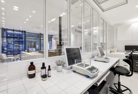 Label Experience : laboratoire de la boutique Laboté à Paris