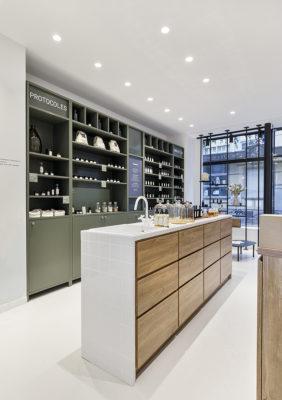 Label Experience : mobilier de la boutique Laboté à Paris