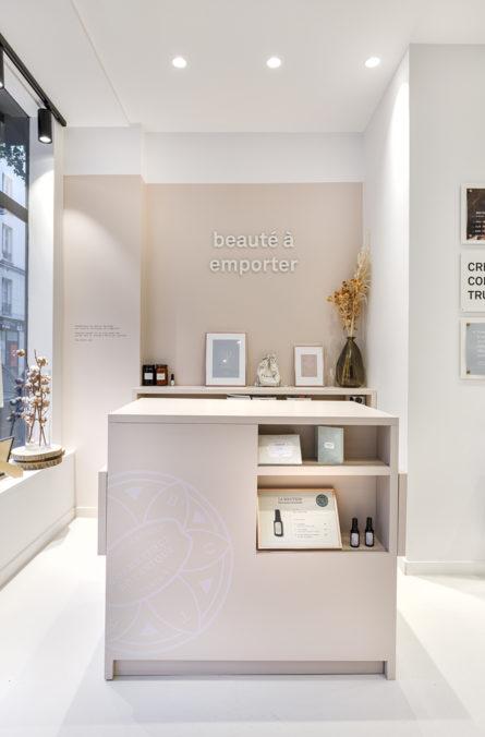 Label Experience : espace beauté à emporter de la boutique Laboté à Paris