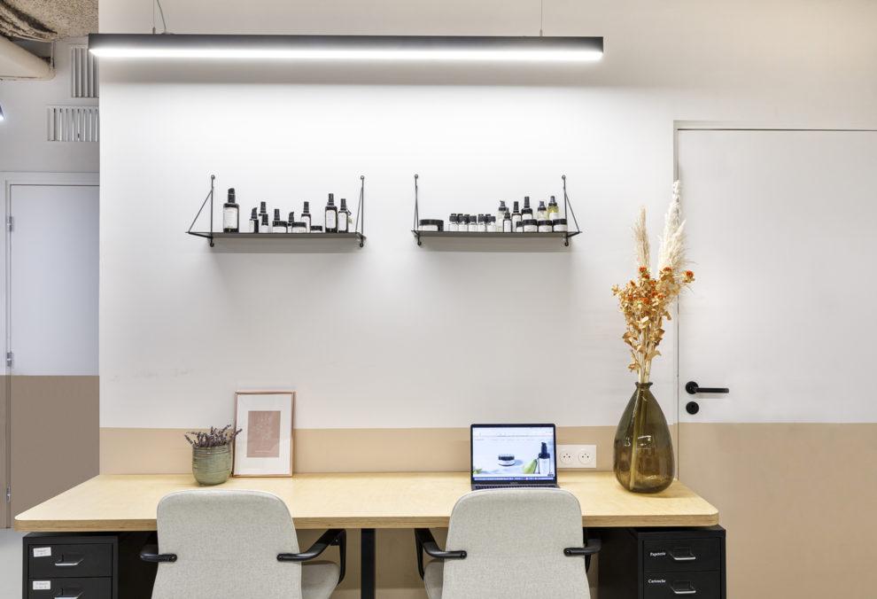 Label Experience : espace de travail de la boutique Laboté à Paris