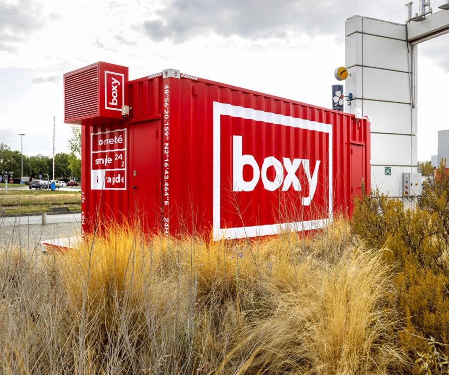 Label Experience : arrière de la boutique Boxy by Storylift