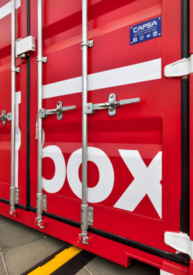 Label Experience : murs de la boutique Boxy by Storelift