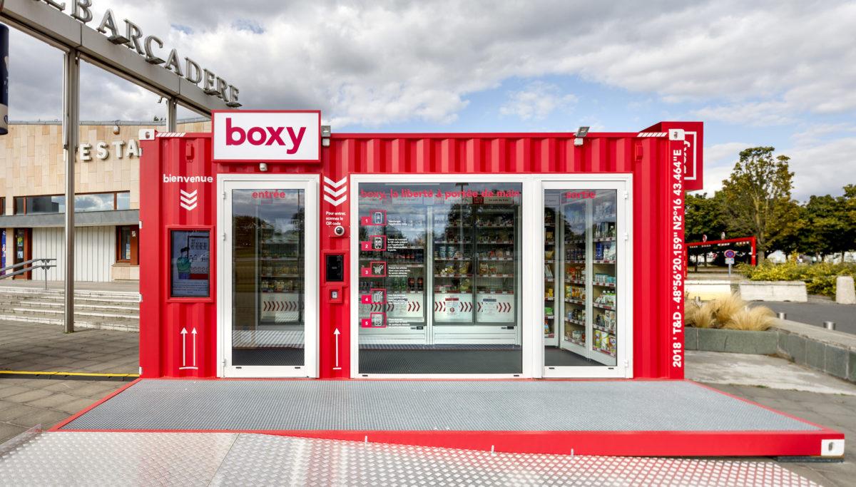 Label Experience : vue globale sur la boutique Boxy by Storelift