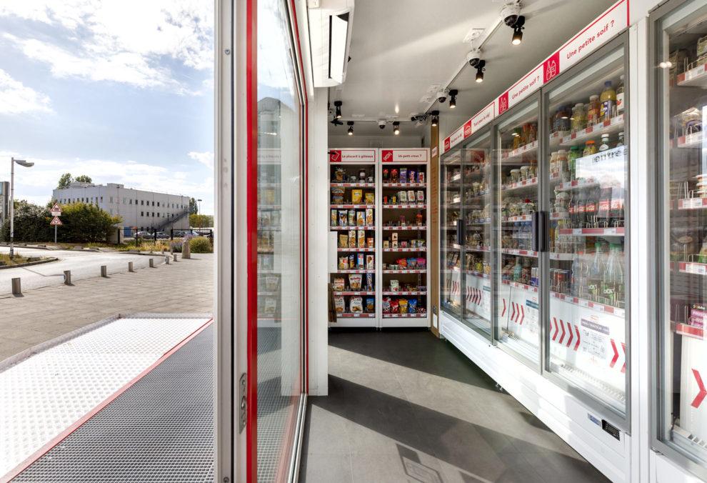 Label Experience : intérieur de la boutique Boxy by Storelift