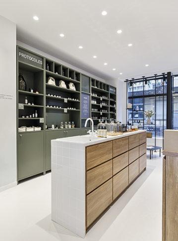 Label Experience : bar à texture de la boutique Laboté à Paris