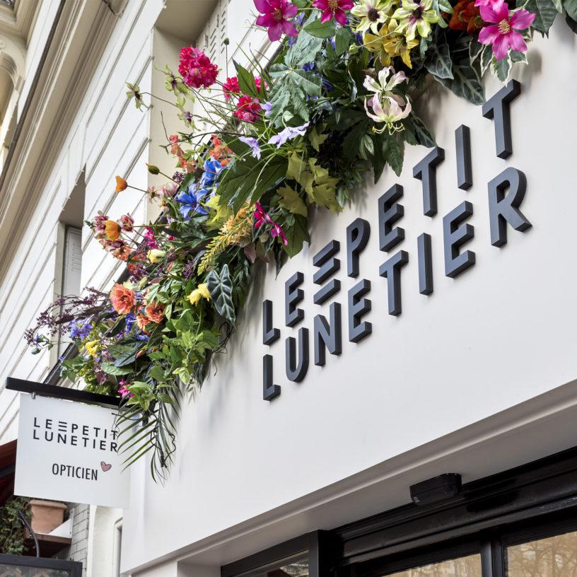 Label Experience : devanture de la boutique Le Petit Lunetier à Paris