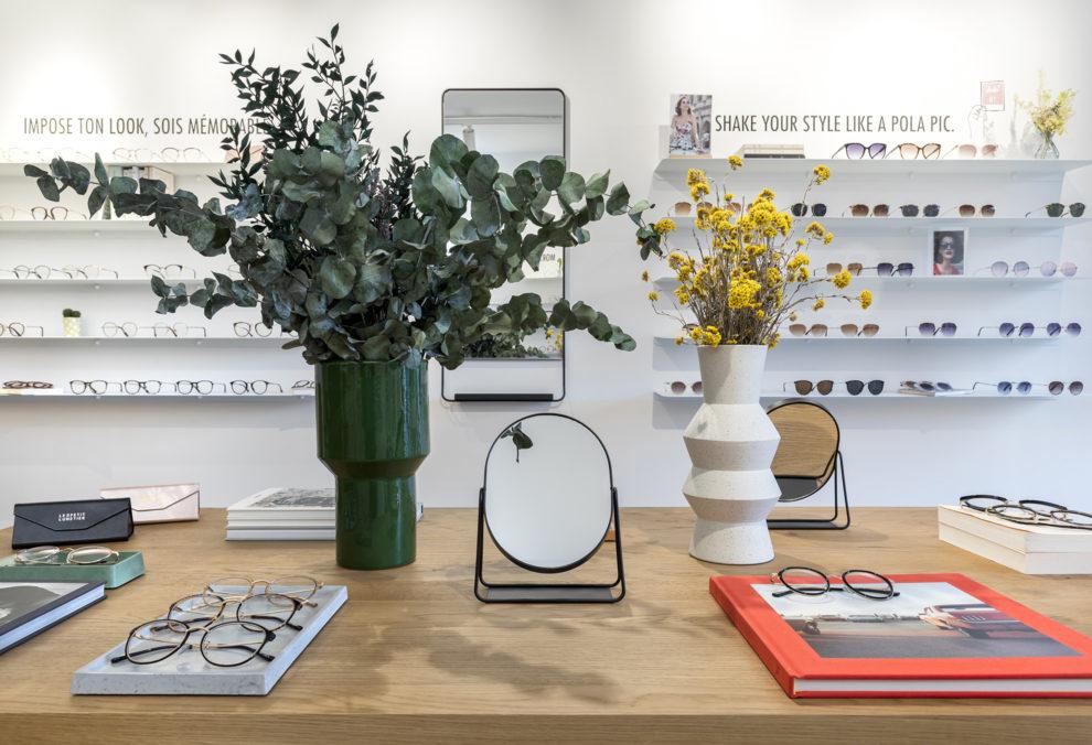 Label Experience : espace de vente de la boutique Le Petit Lunetier à Paris