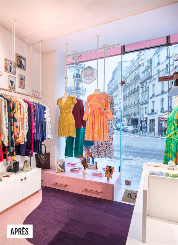 Label Experience : photo après de la boutique Soi à Saint-Germain-des-Prés