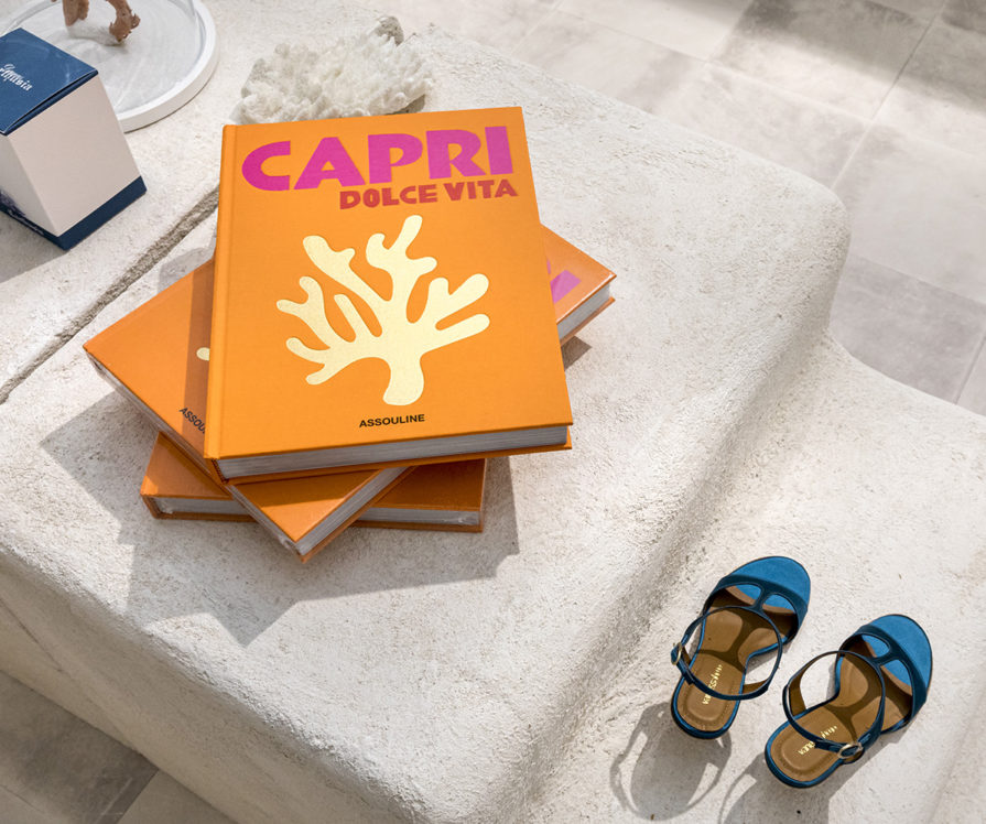 Livre Vanessa Bruno pour le corner Vanessa Bruno Capri par Label Experience