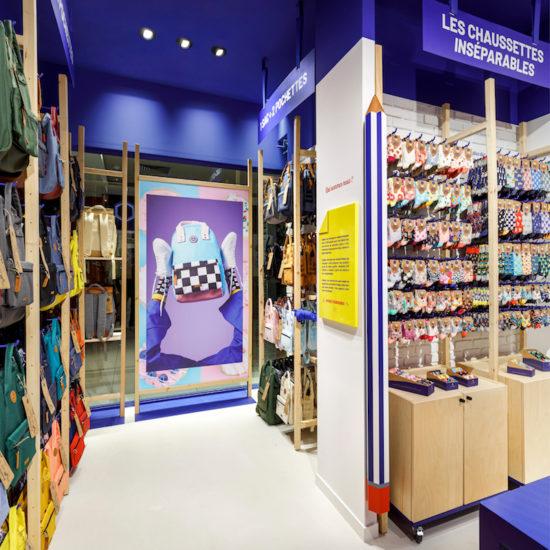 Meuble à chaussettes par Label Experience pour Cabaïa Italie Deux