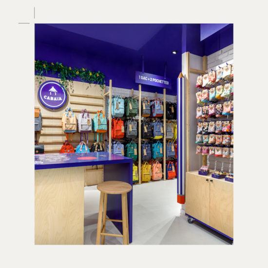 Crayon XXL par Label Experience pour la boutique Cabaïa Italie Deux