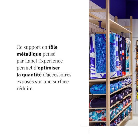 Etagère adaptée au mobilier Cabaia, par Label Experience