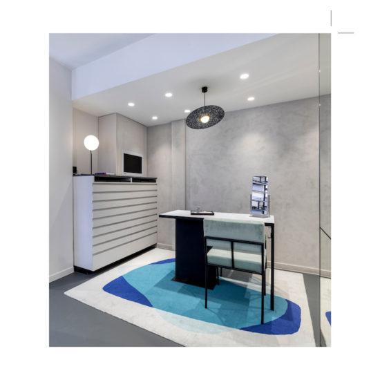 Espace client Carlotti rue de Boissy, par Label Experience