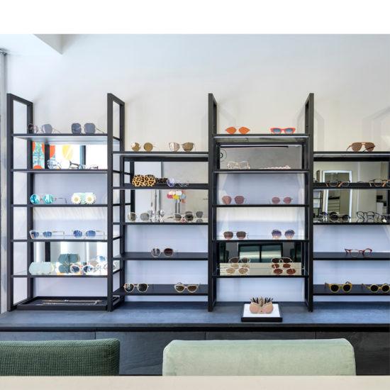 linéaire produits par Label Experience pour la boutique Carlotti Boissy