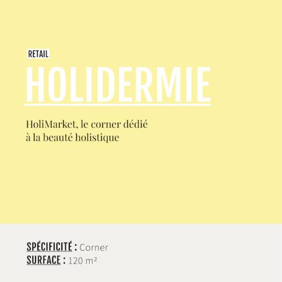 Cartouche Holidermie par Label Experience